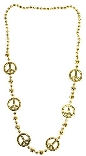 Hippie-Halskette für Erwachsene (Erwachsene Hippie Halskette Peace Zeichen)