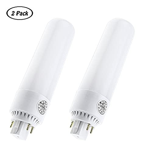 LuxVista 13W GX24Q LED Bulbs PLC Lamp Cool White 6000K