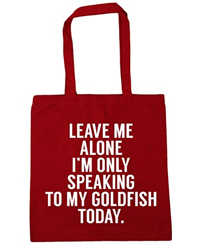 hippowarehouse-leave-me-alone-im-only-speaking-to-my-goldfish-today-tote-shopping-gym-beach-bag-42cm