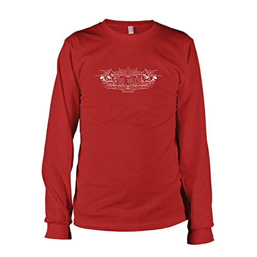 TEXLAB - Wind Waker - Langarm T-Shirt Rot