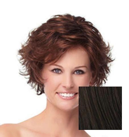 Gabor Carte Blanche Lace Front Wig (G4+ Dark Chocolate Mist) by Eva Gabor - Gabor Perücken Perücke