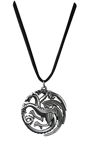 The Noble Collection Targaryen Sigil Pendant (costume) (Game Of Thrones Kostüm Details)