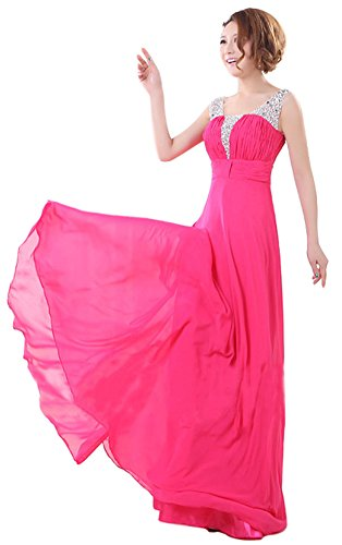 Drasawee - Robe - Taille empire - Femme Gris - Grau - Rosy Red