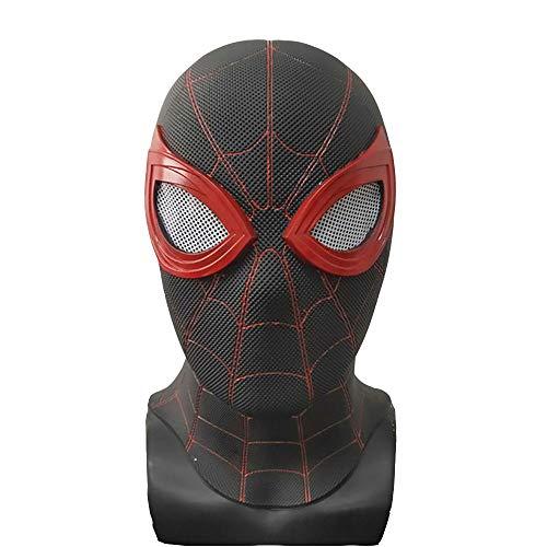 Spiderman Streich Kostüm - gengyouyuan Marvel Heroes Expedition Kopfbedeckungsmaske Halloween COS Maske