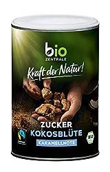 biozentrale Kokosblütenzucker Bio   250g Kokosblütenzucker vegan   Ideal für Getränke, Saucen & Dressings   Birkenzucker & Rohrzucker Alternative