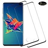 DOSMUNG [2 Pack Vetro Temperato per Samsung Galaxy S10 Plus, Pellicola Vetro per Samsung Galaxy S10 Plus [9H Durezza] [3D Touch] [Alta Definizione] [Senza Bolle] Galaxy S10 Plus Pellicola Protettiva