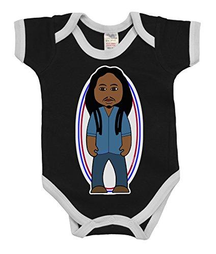 VIPwees Baby Kleidung Babygrow Soul Rebel Rasta Music Boys & Girls Baby Bodysuit