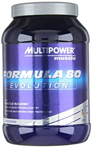 """MULTIPOWER Protéine """"Formula 80 Evolution"""" Stracciatella 750g Dose"""