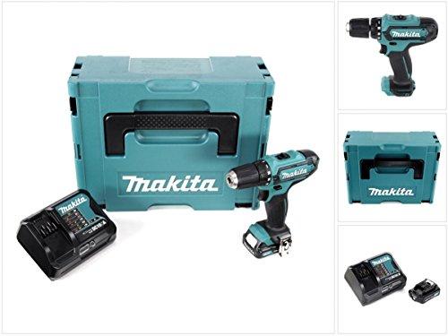 Preisvergleich Produktbild Makita DF 331 DYM1J 10,8 V Li-Ion Akku Bohrschrauber im Makpac mit 1x BL 1020 B 2,0 Ah Akku und DC 10 SA Schnellladegerät