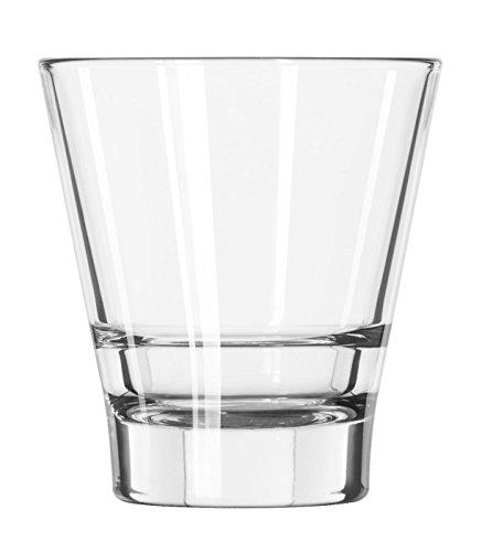 12 x Trinkglas, Whiskyglas, Glas, transparent, 26 cl, Ø 8.9 cm, Höhe: 8.9 cm Libbey Tumbler Set