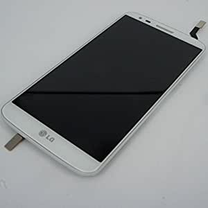 Ecran Complet LCD + Tactile Assemble LG G2 D802 Blanc + outils - NEUF