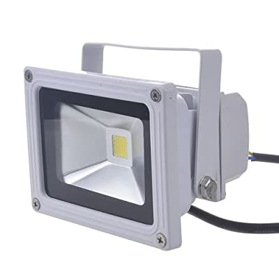 (PMS) 10W SMD LED Scheinwerfer Flutlicht Fluter Strahler Außenstrahler Warmweiss Warmweiß IP65 Wasserdicht