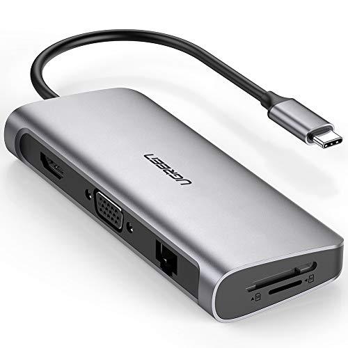 f9f79c3adba UGREEN Hub USB C 3.1 Macbook Pro Thunderbolt 3 a HDMI 4K