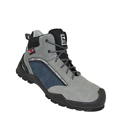Aimont Sapatos De Segurança Herói S1p Src Trabalhar Sapatos De Trekking Sapatos De Alta Cinza
