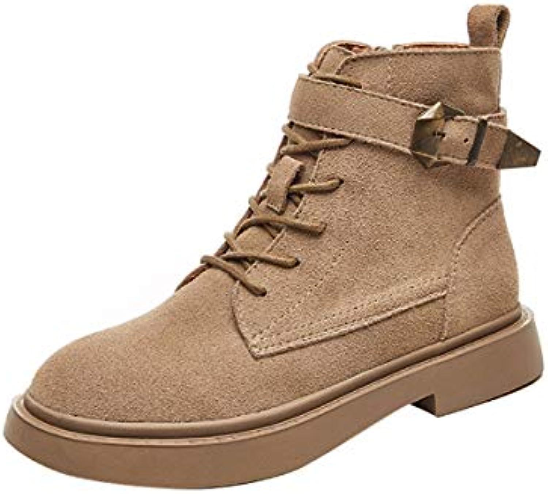 b4f1d96f71edf5 chaussures chaussures chaussures en cuir haut martin kphy vent britannique  boots.thirty-seven d'étudiants b07gxsh4vp bottes chelsea bottes noires  parent ...