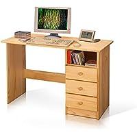 moebel-eins PC Schreibtisch/Kinderschreibtisch Kiefer 8844 preisvergleich bei kinderzimmerdekopreise.eu