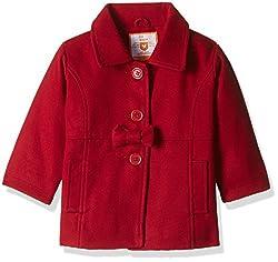612 League Baby Girls Jacket (ILW16I79014_Red_6-12M)