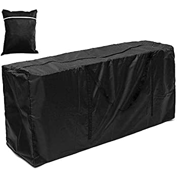 Waterproof Cushion Storage Bag Outdoor Patio Furniture Protection Table Cover