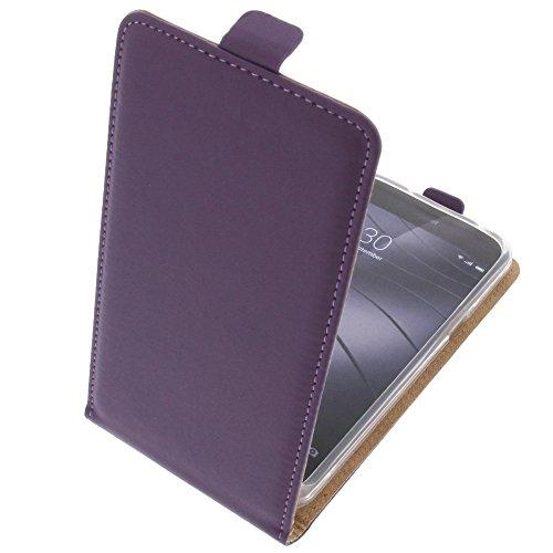 foto-kontor Tasche für Gigaset Me Pure Smartphone Flipstyle Schutz Hülle lila