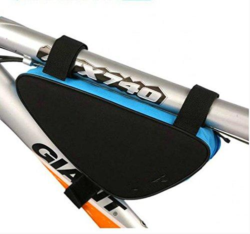 FAN4ZAME Dreieck Mountainbike Tool Kit Strahl Beutel Oberen Rohr Querträger Fahrrad Vorderseite C