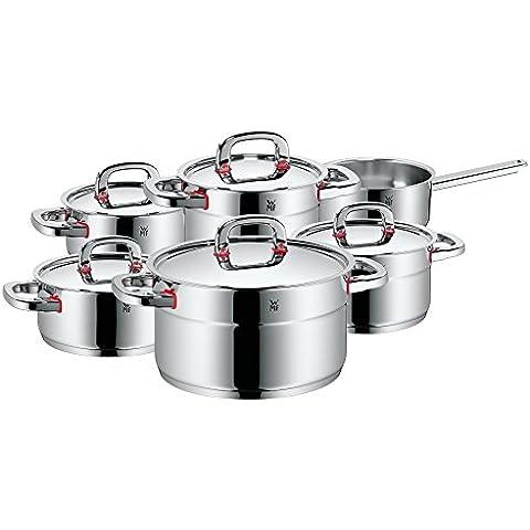 WMF Premium One - Batería de cocina, 6 piezas