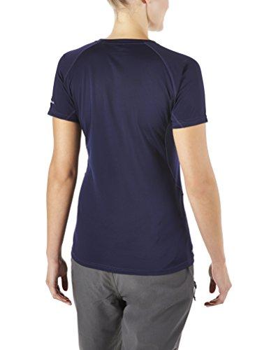 Berghaus Tech II  T-shirt à col rond et manches courtes pour femme Bleu - Bleu crépuscule