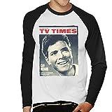 Photo de TV Times Cliff Richard 1964 Cover Men's Baseball Long Sleeved T-Shirt par TV Times