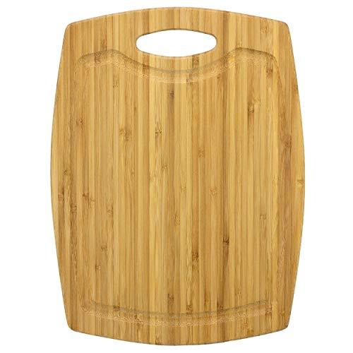 Unbekannt Totally Bamboo ba202261Schneidbrett Greenlite mit Saftrille, Bambus, Holz, 30x 22x 0,94cm (Totally Bamboo-schneidbrett)
