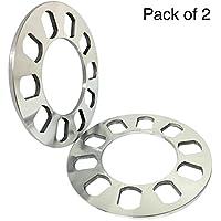SmartSpec - Separadores de rueda universales. Aleación de aluminio. Para 4/5 tornillos
