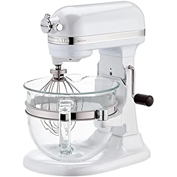 kitchenaid küchenmaschine mit glasschüssel