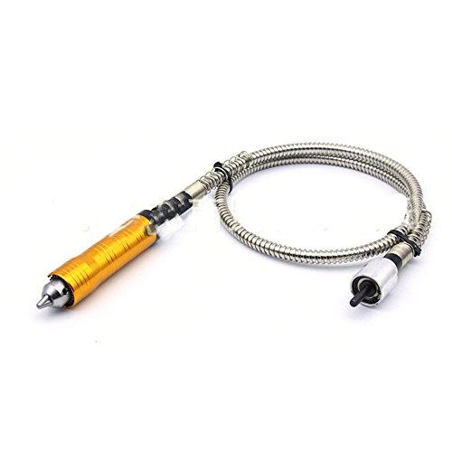 Outil Flexible Flexible à 6mm L'axe Flex flexible s'adapte à une pièce à main de 0,5 à 6 mm.