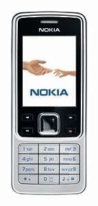 Nokia 6300 black silver (EDGE, Bluetooth, Kamera mit 2 MP, Musik-Player, Stereo-UKW-Radio, Organizer) Handy