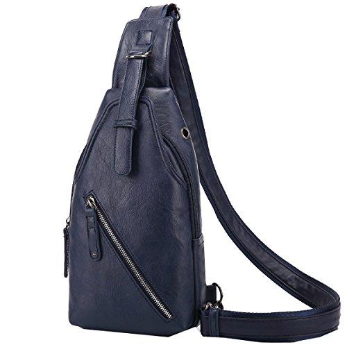 Yy.f Männer Schulter Umhängetasche Eine Kleine Brusttasche Männliche Koreanische Handtasche Rucksack Outdoor-Sport-und Freizeitreiten Männlich Brusttasche Multicolor Brown