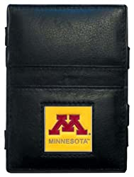 NCAA Minnesota Golden Gophers Leather Jacob's Ladder Wallet