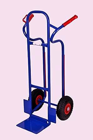 sackkarre gleitkufen 250 kg blau 111x50x53 cm vollgummi transportkarre stapelkarre. Black Bedroom Furniture Sets. Home Design Ideas