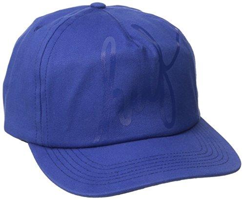 HUF - Tonal Script Snapback Hat, O/S, Blue
