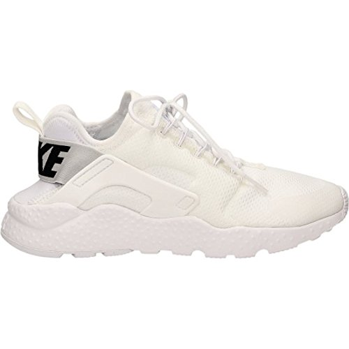 Nike W Air Huarache Run Ultra, Chaussures de Running Entrainement Femme, Blanco (Blanco (White/White-Black)), 41 EU