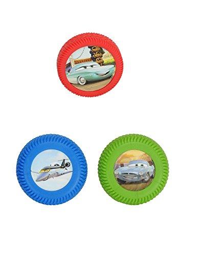 089515 - Disney Cars 2 - Wheelies 3 Stück im Blister Pack, sortiert (Wheelies Cars 2)