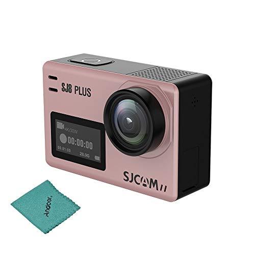 SJCAM SJ8 Plus Action Cam 4K Sport Cam mit Eis 170 ° Weitwinkelobjektiv 2,33 Zoll Touchscreen 1200mAh Akku für Unterwasser Outdoor-Aktivität Black Bare-Metal-Version