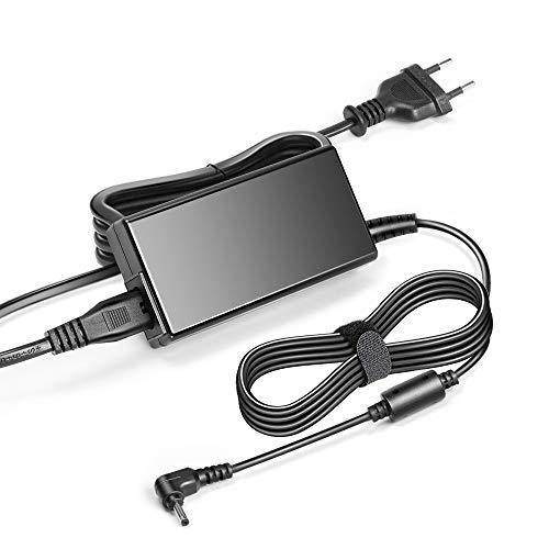 KFD 19V 3,42A 65W Alimentatore Caricatore per ASUS VivoBook X542UA UX305FA f200m ASUS Zenbook UX301 ux302 UX303 UX42VS UX331UN ADP-65DW B,ADP-65GD B Notebook Adattatore PC Portatile -4,0mm*1,35mm