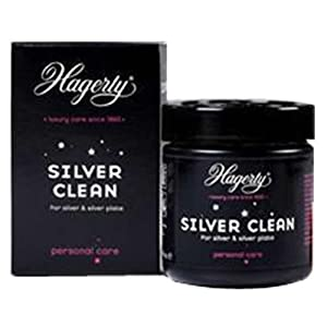 Hagerty Silver Clean 170ml Silver Dip Bath for Silver and Silver Plated Jewellery by Hagerty
