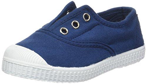 babybotte Unisex-Kinder Oz Flach Blau (Marineblau)