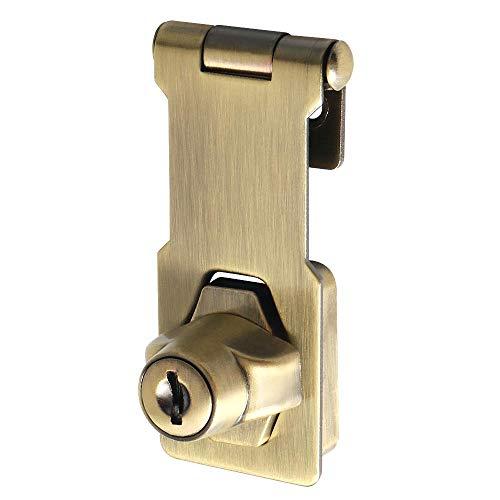 Sayayo EMS1100Q-3C - Cerrojo de puerta con cerradura de seguridad (3 p