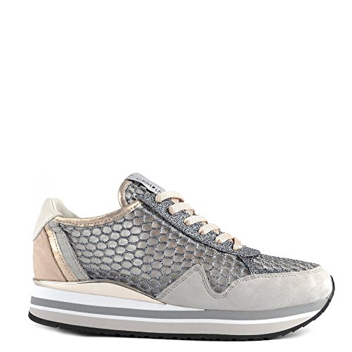 Crime London Schuhe Speed Sneaker Grau Damen Grau