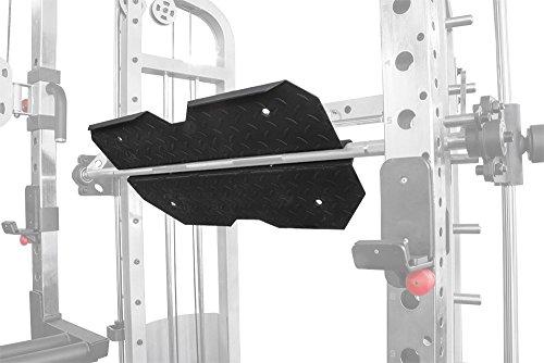 Primal Stärke Beinpresse Anhang für Elite Power Rack/Smith Maschine/Funktionell Trainer Ultra System. Matt Nero