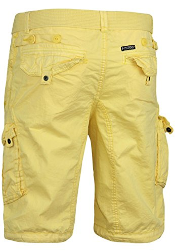 Geographical Norway bermuda shorts Pericolo Men Yellow