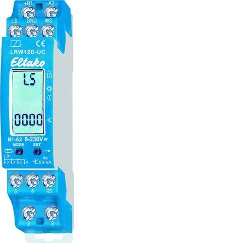 Eltako LRW12D-UC - Relé de sensor con pantalla digital