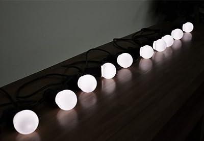 50er LED Lichterkette erweiterbar warm weiß Partybeleuchtung System LED nur 3 W von Nipach GmbH bei Lampenhans.de