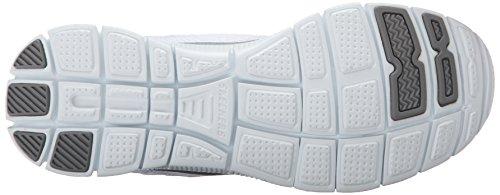 Skechers Flex AppealObvious Choice, Baskets Basses Femme Blanc (wsl)