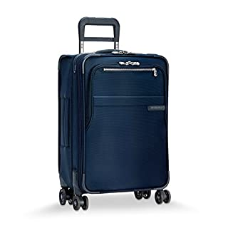 Briggs & Riley Baseline Limited Edition Domestic Carry-on Expandable Spinner, 56cm, 55.5 litres, Navy Bagage Cabine, 56 cm, 55.6 liters, Bleu (Navy) (B01E9XYBE4) | Amazon Products